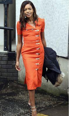 Naomie Harris Looks So Brilliant In Orange