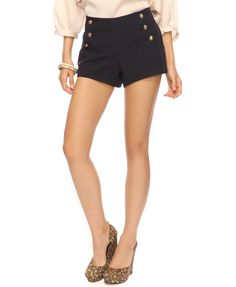 Cuffed Sailor Shorts have these too.. haven't worn them yet.. hmmm...