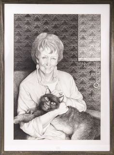 Laurie Lipton 1988 pencil drawing