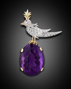 Estate Jewelry, Tiffany & Co., Jean Schlumberger Brooch ~ M.S. Rau Antiques