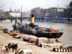 Nostalgie: prachtige kleurenfoto's van Parijs van 100 jaar geleden | Frankrijk Puur