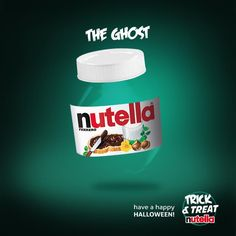 Trick & Treat - Halloween Facebook Album for Nutella.    OGILVYONE ITALY - ART DIRECTION: Andrea Guzzetti & Lorenzo Fassina. COPYWRITING: Gaia Vannini    https://www.facebook.com/media/set/?set=a.10151096446041962.440877.24932281961=1