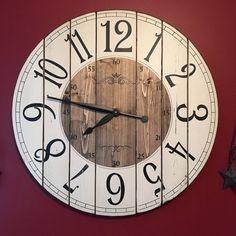 Granja de 28 pulgadas reloj  reloj de pared estilo rústico