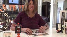 "Lisa's Picks Promo: ""Trick Or Treat.""  Get the kit here: http://anthologydiy.com/wpccategories/lisas-picks/ #lisabearnson #AnthologyDIY"