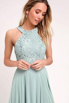 2b2602945 8 Best Sage green maxi dress images
