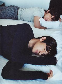 jung yunho & shim changmin <----- There ain't nothing wrong with watching people sleep...