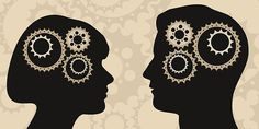 """How Men And Women Process Emotions Differently Are women """"wired"""" to be more emotional? Not exactly -- but new research provides more evidence that the male and female brain may have very different ways of processing emotion. Darwin Awards, Conversation Topics, Men Vs Women, Popular Stories, Mentally Strong, Brain Activities, Man Vs, Your Brain, How To Better Yourself"""