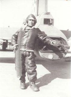 USAAF B-17 Tail Gunner.
