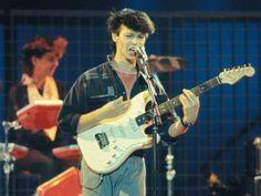 New Romantic 80s Australian band  'Pseudo Echo' headed by Brian Canham  ><