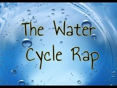 Land and water unit Water Cycle Rap. Science Videos, Science Resources, Science Lessons, Science Education, Teaching Science, Science Activities, Science Projects, Science Experiments, Water Cycle Activities