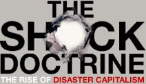 """The Shock Doctrine by Naomi Klein who also campaigns in """"Capitalism vs. the Climate"""" or how a meaningful response to global warming would be a fatal blow to free markets and capitalism. Good Books, Books To Read, Reading Books, Iraq Today, Moral Panic, Naomi Klein, S Shock, Movies Worth Watching, Mystery Of History"""