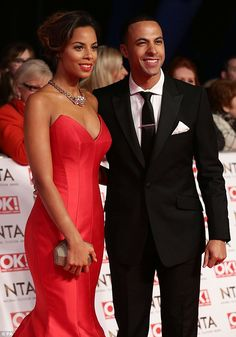Rochelle Humes at the NTAs 2015   www.suzanneneville.com/blog/rochelle-humes-wows-in-red-suzanne-neville-at-the-national-television-awards-2015/