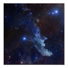 Witch Head Nebula NASA Space Posters  from The Astronomy Gift Shop on Zazzle. This space image is also available on many other products. Image by NASA - see product page for full image credit.