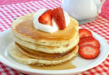 This fluffy, easy pancake recipe shows that homemade pancake mix is simple to make. This basic pancake batter recipe is easy and delicious. Best Easy Pancake Recipe, Pancake Recipe Ingredients, Pancake Recipes, Sugar Free Pancakes, Pancakes Easy, Protein Pancakes, Buttermilk Pancakes Fluffy, Gluten Free Cakes, Gluten Free Foods