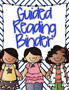 Guided Reading Binder FREEBIE!