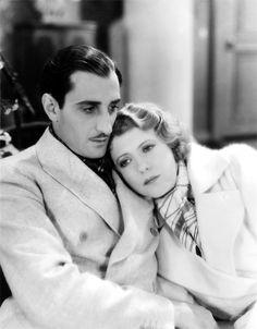 Basil Rathbone and Ruth Chatterton