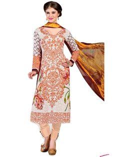 Pakistani Salwar Kameez, Pakistani Suits, Ethnic Fashion, Every Woman, Lawn, Peach, Classy, Cotton, Shopping