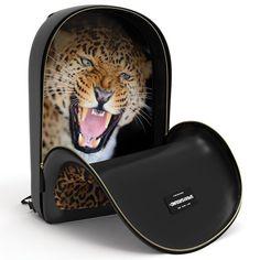 Sneak Attack Leopard Backpack by Sprayground