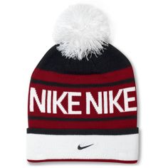2ba4146c012 Nike beanie hat Knitted beanie hat with pom Nike Accessories Hats Athletic  Gear