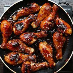 Easy Sticky Chicken Drumsticks by Tasty