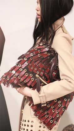 Behind the scenes at the Burberry Prorsum A/W13 show