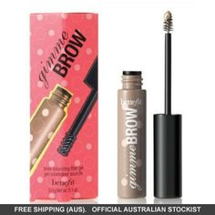 What to do when you need fuller looking brows? Benefit brings the brow solutions! Benefit Gimme Brow in Light/Medium is a brush-on fiber gel that adheres to skin and hairs for fuller looking brows in a jiffy! Fibre Gel, Fiber, Eyebrows, Eyeliner, Full Brows, Beauty Treats, Face Framing, Make Up Collection, Beauty
