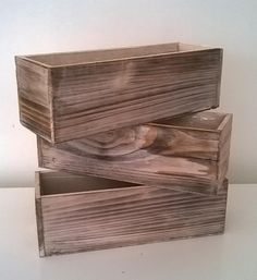 small tables- similar boxes but square to fit well on tables
