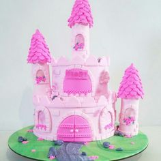 Torta castillo de princesa