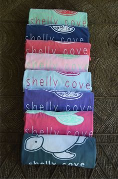 Lots of Cute Colors in our comfy long sleeve pocket tee!