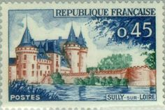 Sello: Sully sur Loire (Francia) (Tourism) Yt:FR 1313,Mi:FR 1367