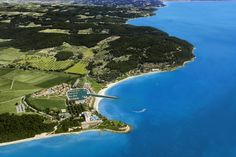 Keith Jenkins for Sani Resort, Kassandra Peninsula, #Halkidiki aerial view  A resort ideal for every taste!