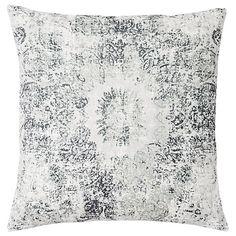 Buy west elm Distressed Velvet Mandala Cushion Online at johnlewis.com
