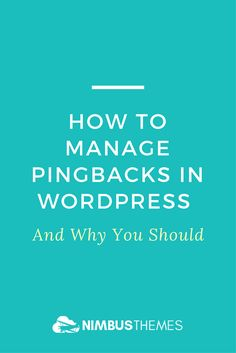 One of the best ways to deliver more value to your readers is by linking out to high-authority resources from your articles. It allows you to direct your readers to quality blog posts that cover topics that are out of your article's scope in more detail. What you might not know is that whenever you link other blog posts, WordPress automatically sends them pingbacks.