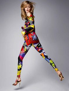 Gigi Hadid для Vogue Germany January 2018