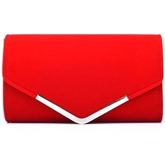 New Trending Clutch Bags: U-Story Womens Velvet Bridal Clutch Evening Prom Wedding Shoulder Chain Bag Handbag (Red). U-Story Womens Velvet Bridal Clutch Evening Prom Wedding Shoulder Chain Bag Handbag (Red)  Special Offer: $13.99  455 Reviews Specification: Material: Velvet Dimensions: 26*15*6cm (10.23*5.9*2.36inch) Open Method: Magnetic Snap Style: Clutch bag/Handbag/Shoulder chain bag/Purse...