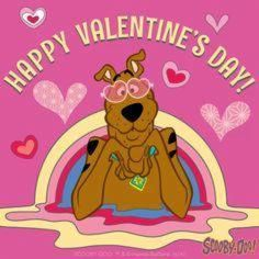 A scooby doo valentine Scooby Doo Cartoon Network, Scooby Doo Images, Valentines Day Cartoons, Happy Valentines Day Images, Valentine Crafts, Best Cartoons Ever, Cool Cartoons, Cartoon Tv, Cartoon Characters