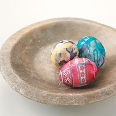 How to Make Silk Tie Easter Eggs