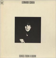Songs From a Room - Leonard Cohen Greatest Album Covers, Rock Album Covers, Classic Album Covers, Rock Cover, Leonard Cohen, Great Albums, Vintage Rock, Artwork Design, Classic Rock