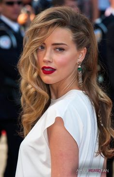 Amber Heard at the 67th Annual Cannes Film Festival - 'Two Days, One Night' Premiere on May 20th 2014 - See More here : www.aheardfan.com...