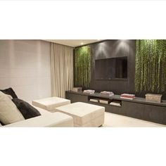 By @moniserosa #moniserosaarquitetura #bymoniserosa #interiordesign #interiores #hometheater #decor by moniserosaarquitetura