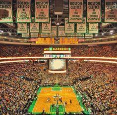 TD Garden, Boston Celtics