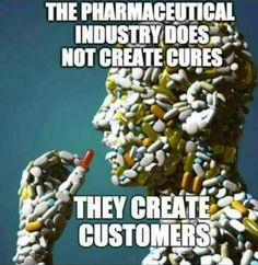 Sadly, the #pharmaceutical industry creates customers instead of #cures - My mission is to impact this... #pharmaceutical #cures https://plus.google.com/+MichaelTamezTransformativeNutrition/posts/U9ekjnY991e