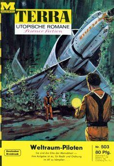 Terra SF 503 Weltraum-Piloten 2.Teil   SPACE CADET Robert A. Heinlein  Titelbild…