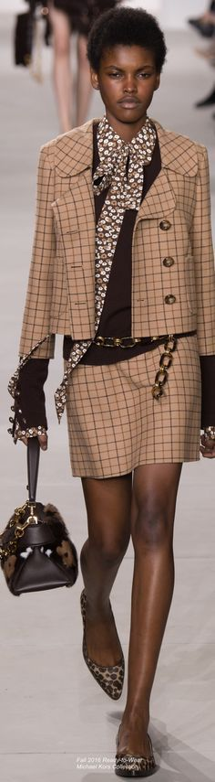 @roressclothes closet ideas #women fashion Fall 2016 Michael Kors Collection