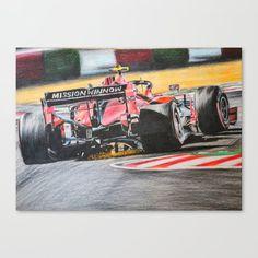 Canvas Print by bublinko Ferrari, Canvas Prints, Shop, Photo Canvas Prints, Store