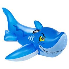 INTEX® Friendly Shark Ride-on Inflatable Pool Toy