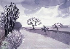 Painting by David Hockney #art @deFharo