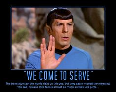"""It's been nearly half a century since Leonard Nimoy first played the logical half-human, half-Vulcan Mr. Spock on the TV series """"Star Trek,"""" a role that has . Star Trek, Morning Love, Sunday Morning, Leonard Nimoy, Love Pizza, Inspirational Posters, Spock, Meant To Be, Memories"""