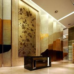 Sheraton Beijing Dongcheng Hotel, Interior Design by HBA / Hirsch Bedner Associates