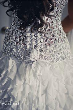 Pnina Tornai dress detail.